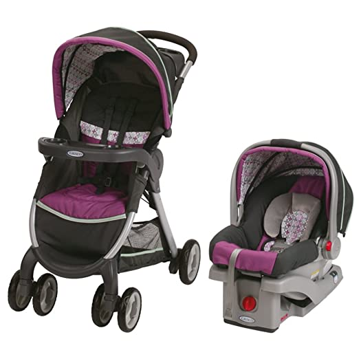 Graco Fastaction Fold Click Connect Travel System, Nyssa 2015