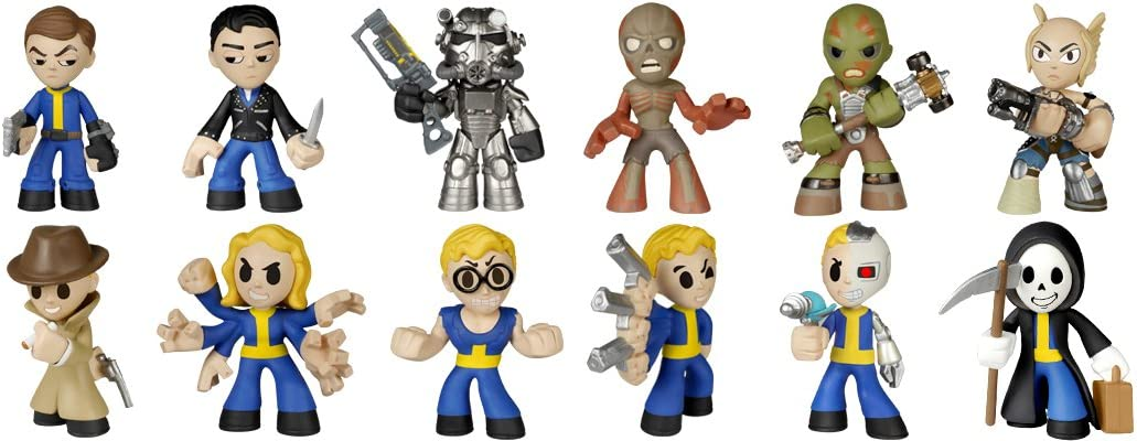 FALLOUT FUNKO POPS DISPLAY STAND MYSTERY MINIS 2 TIER POP VINYL.