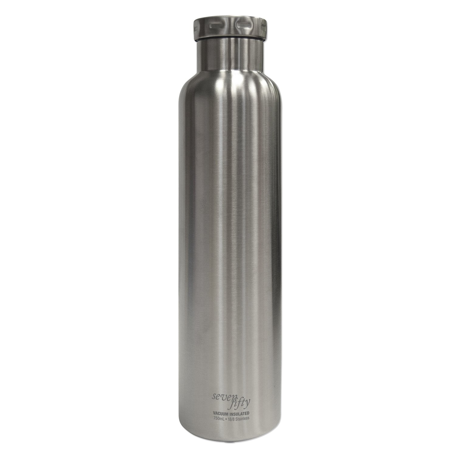 FIFTY/FIFTY Seven Fifty Chardonnay Vacuum-Insulated Stainless Steel Wine Growler - 750 mL Capacity