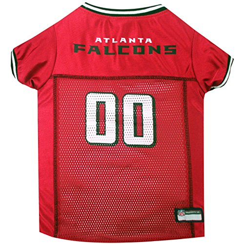 Nfl Game Gear Tee - NFL ATLANTA FALCONS DOG Jersey, Large