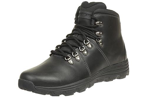 Skechers RESMENT ALENTO Men's Outdoor Boots BBK leather Outdoor, tamaño de zapato:EUR 41