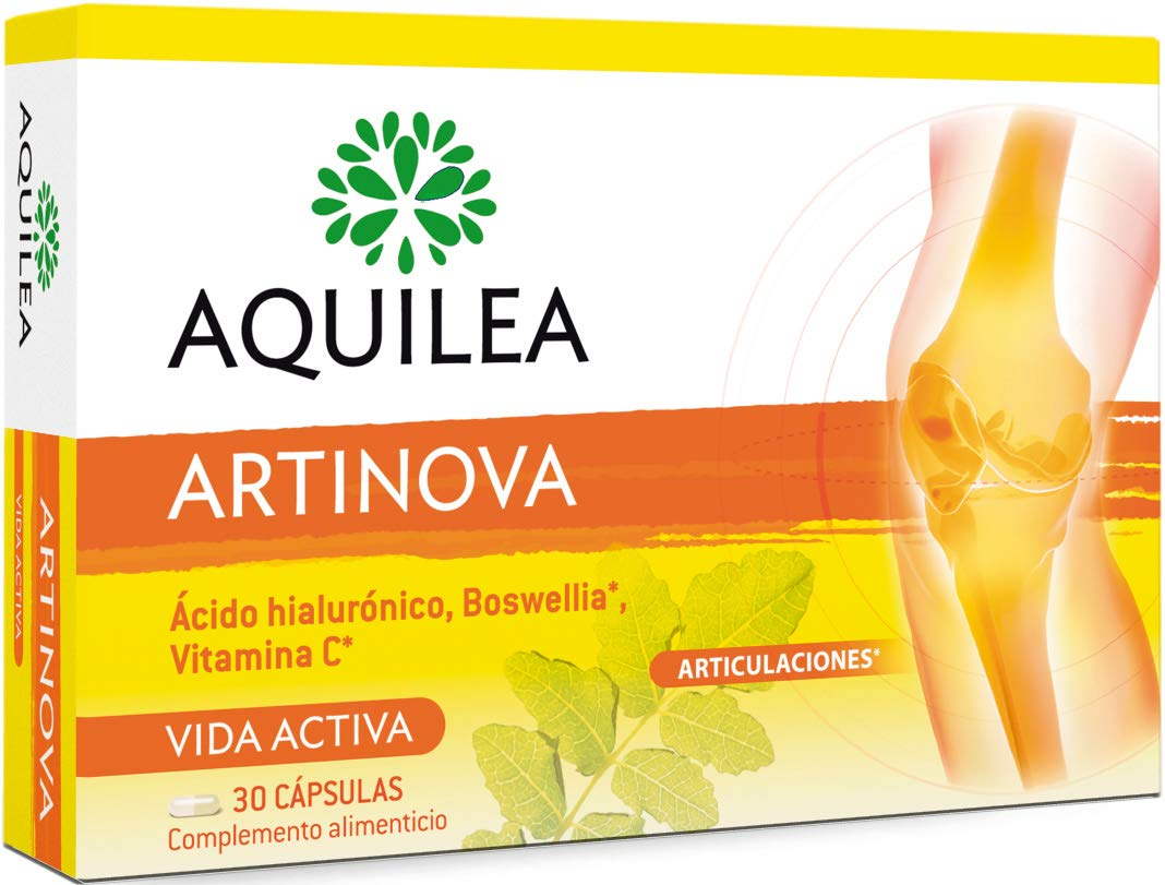 Amazon.com: Aquilea Artinova 30 Capsules - Restores Fluid Movement to Your Body - Improves The Comfort of Your Joints - Offers Anti Inflammatory & Analgesic ...