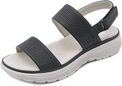 old lady velcro shoes