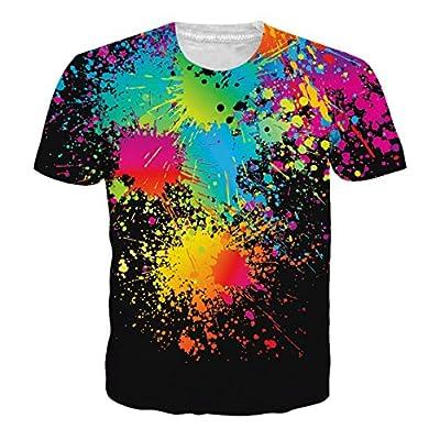 Cutemefy Unisex 3D Print Tshirts Shorts Sleeve Graphic Tee Shirts - Sloth T-Shirts