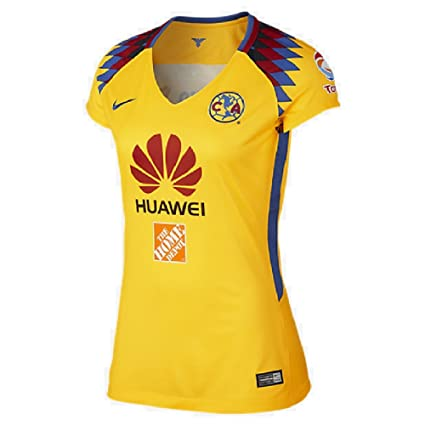 016d96ead Image Unavailable. Image not available for. Color  Nike Womens 2018 Club  America Third Jersey ...