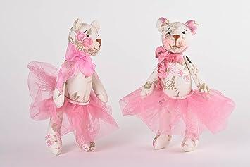Osos de peluche hechos a mano juguetes de tela regalos originales para ninas