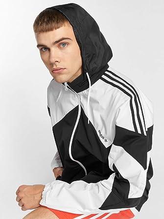 d3ea3ee473 Adidas Originals Palmeston Wb Windproof Jacket X Large Black White ...