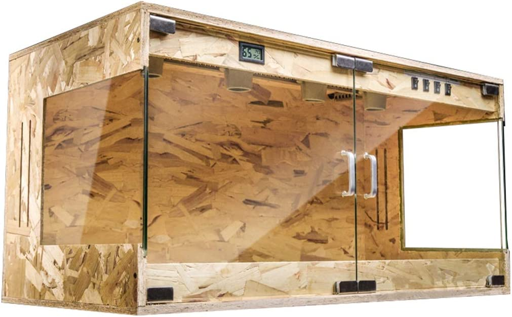 松 大 断熱 タンク、 ペットショップ カメレオン 亀 展示ボックス、 トカゲ リス 生体 アニマルボックス、 新年 前夜 (Size : 120*55*55cm)