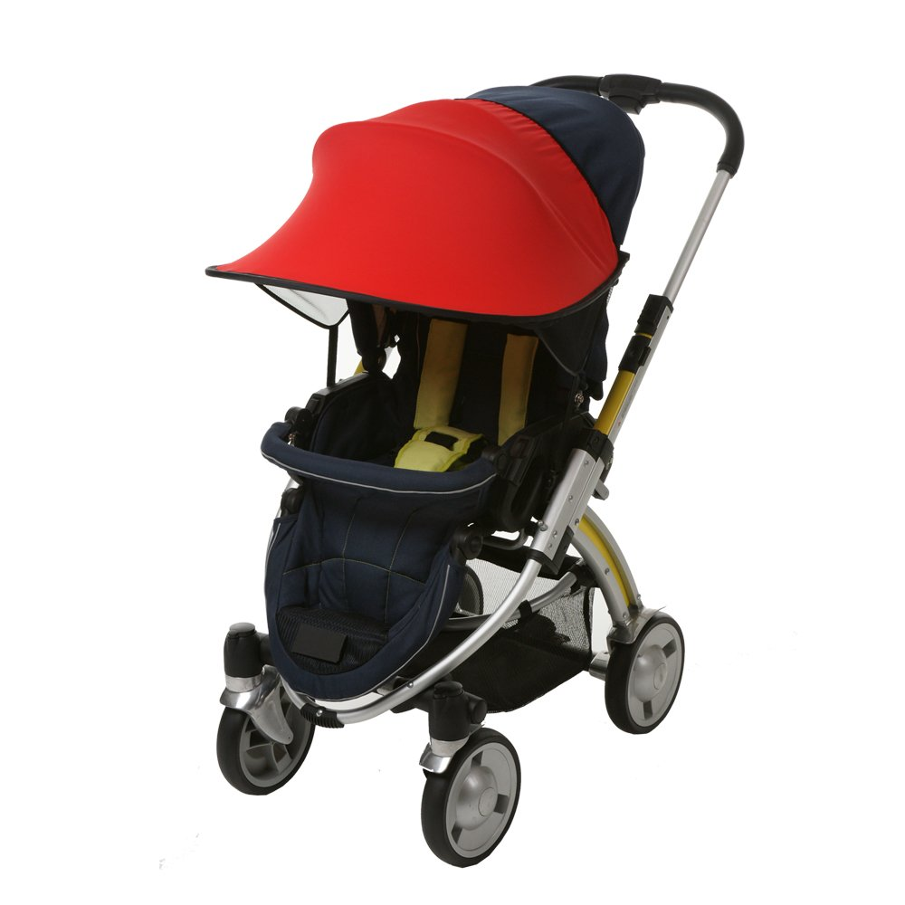 Manito and Car Seat UV Cut Wide Sunblock Universal and easy installing Pushchair Orange New Sunshade//Sunshade for Baby stroller