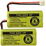 QBLPOWER 2.4V Rechargeable Battery For AT&T and Vtech Phones BT18433 BT184342 BT28433 BT284342 BT-8300 BATT-6010 BT1011 BT1018 BT1022 BT1031 89-1326-00-00 /89-1330-01-00 / CPH-515D(Pack of 2)