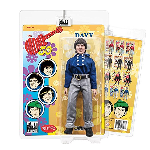 The Monkees 8 Inch Action Figures: Blue Band Outfit: Davy Jones