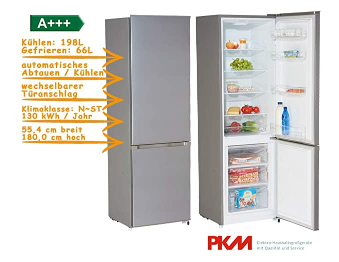 PKM kg 280ix independiente nevera y congelador/A + + +/264 L ...