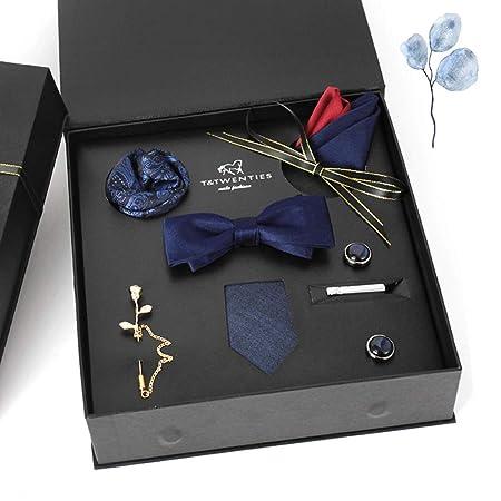 Corbatas para hombre, corbata de lazo, bufanda cuadrada ...
