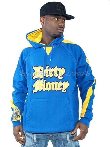 Dirty Money Sudadera con capucha - para hombre bpTntrxO