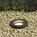 Kichler 15268AZ, Landscape 120 Volt Composite Landscape Inground Lighting Fluor, Bronze