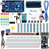 ELEGOO Mega 2560 R3 Project Starter Kit for Arduino Mega2560 UNO R3 Mega328 Nano - Including 16 Tutorials CD