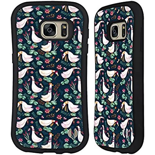 Official Oilikki Geese Animal Patterns Hybrid Case for Samsung Galaxy S7 Sales
