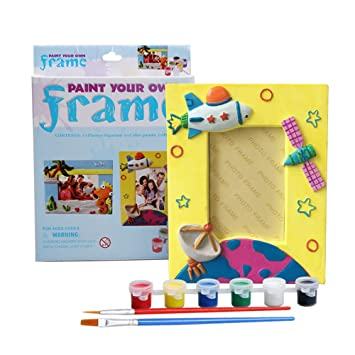 Amazoncom Weihong Paint Your Own Frame Picture Frame Craft