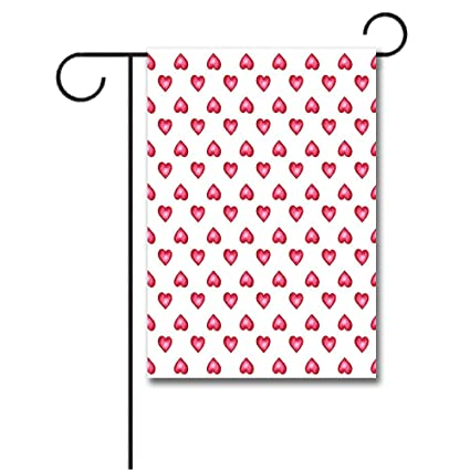 Amazon Wondertify Garden Flags Romantic Valentines Day Symbol