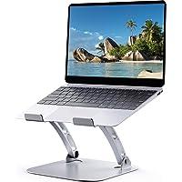 Hcman T602 Laptop Stand Verstelbaar - Draagbare Laptop Riser voor Bureau, Opvouwbare Aluminium Macbook Air Pro Stand…