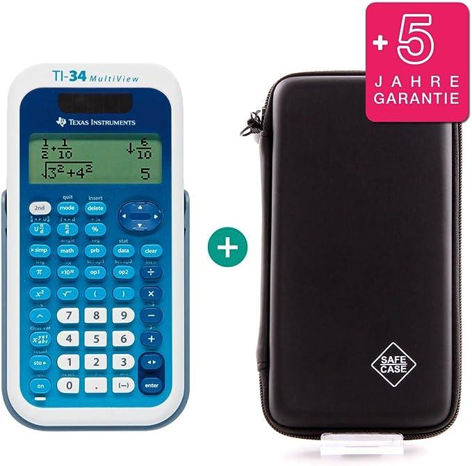 TI 34 MultiView Taschenrechner erweiterte Garantie
