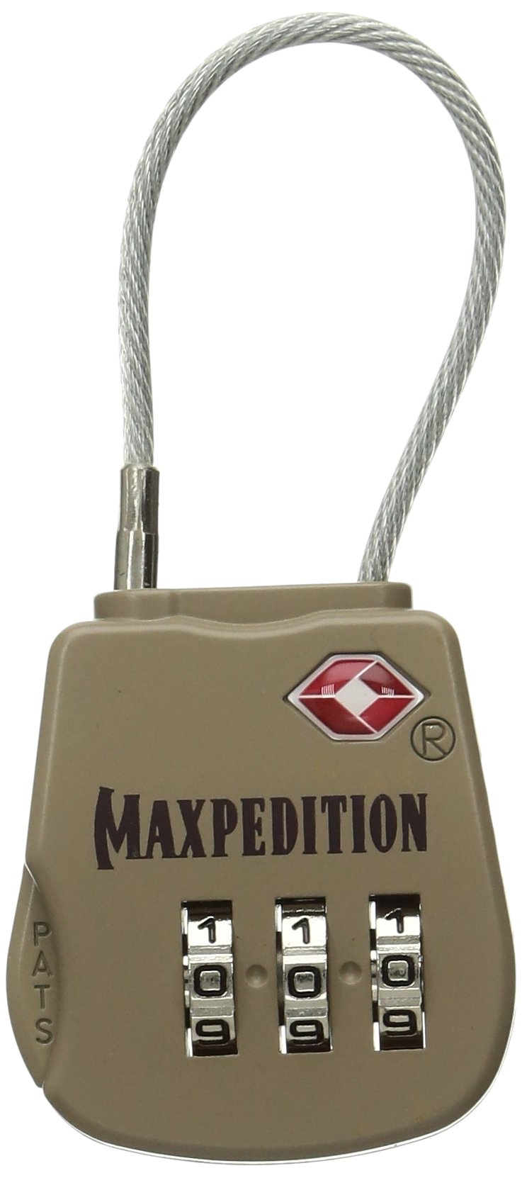 Maxpedition MXTSALOCK-BRK Tactical Luggage Lock by Maxpedition (Image #1)