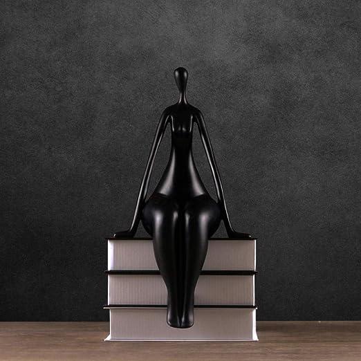 Escultura Estatuas Yoga Escultura Creativa Decoración ...