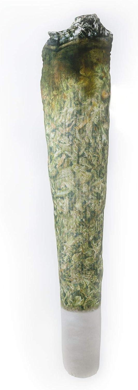 RollaJohn : The Big J Pillow - El Primer y Unico Cojín del Mundo en Forma de Una Gran Porro (150 cm).