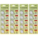 Fortune CR2025 3 Volt Lithium Coin Battery - Retail Packaging (Pack of 20)