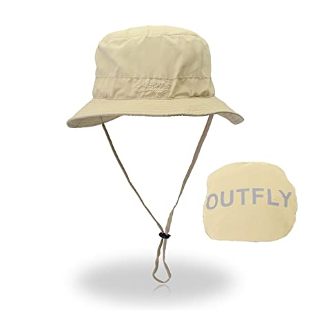 GR Letter Embroidery Bucket Hat Hat Summer Sun Hat Men Women Fisherman Hats  Outdoor Quick Dry Fisherman (Color   Khaki)  Amazon.co.uk  Kitchen   Home 157928dcc407