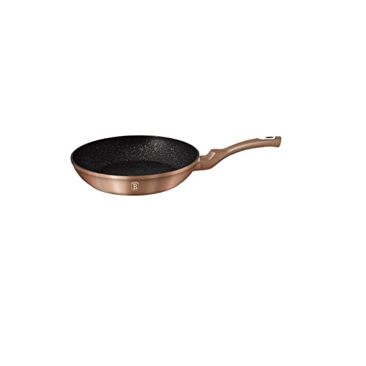 Sartén modelo Rosegold Collection, de cobre, de 30 cm. Código BH-1511.: Amazon.es: Hogar