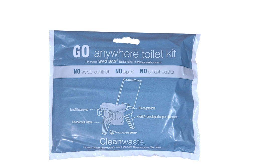 Cleanwaste Go Anywhere Waste Kit, 50-Kits D313W50