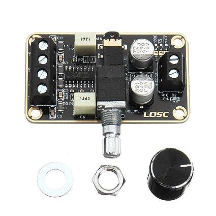 Bloomerang 5Wx2 Stereo Dual Channel Digital Amplifier Board Pam8406