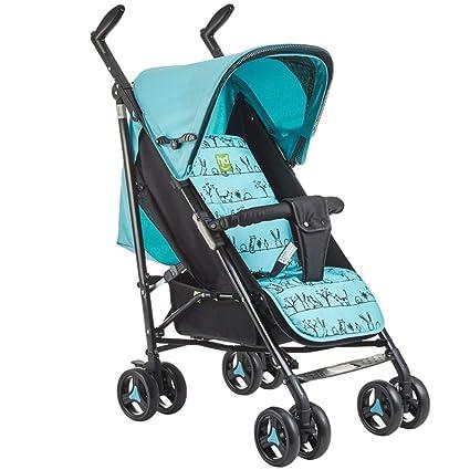 El Cochecito de bebé, fácil de Plegar, se Puede sentar en un ...