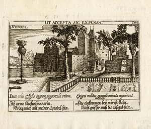Antiguo ThePrintsCollector print-nyenrode-netherlands-spinner-meisner-1678