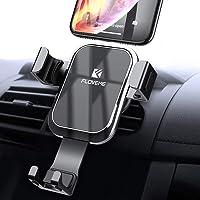 Soporte de Celular para Auto, FLOVEME Soporte Celular Automatico Ajustable por Gravedad, Soporte de Coche Universal Compatible con iPhone Xs Max XR X 8 7 Plus Samsung S10 S9 S8 Plus S7 Edge Note 8 9 Xiaomi Note 7 Huawei