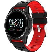 ZHZLX-smart wristband Watch- Fitness Tracker Pulsera Deportiva Inteligente MultifuncióN Ritmo CardíAco OxíMetro PresióN Paso Reloj Inteligente Compatible con Android Y iOS-6 Colores Opcionales