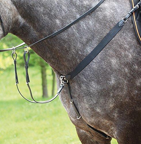 TEKNA-Vorderzeug mit Elastic Pferd Reitsport Tack Reiten Braun braun Pony