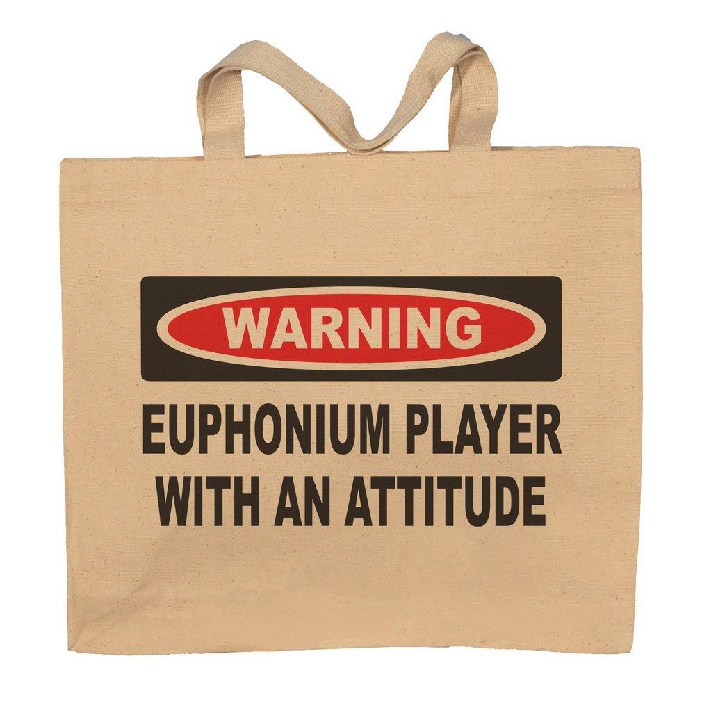 Euphonium Player With An Attitude Totebag Bag