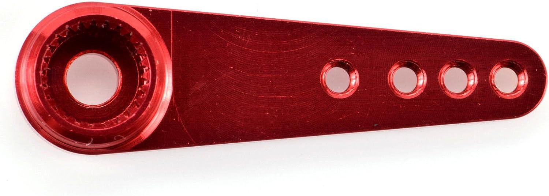 3 Pack #8028 Savox Aluminum Servo Horn Apex RC Products Red 25T Futaba