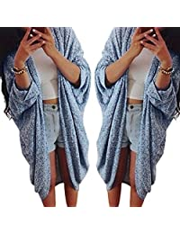 Gillberry Womens Lady Casual Knit Sleeve Sweater Coat Cardigan Jacket