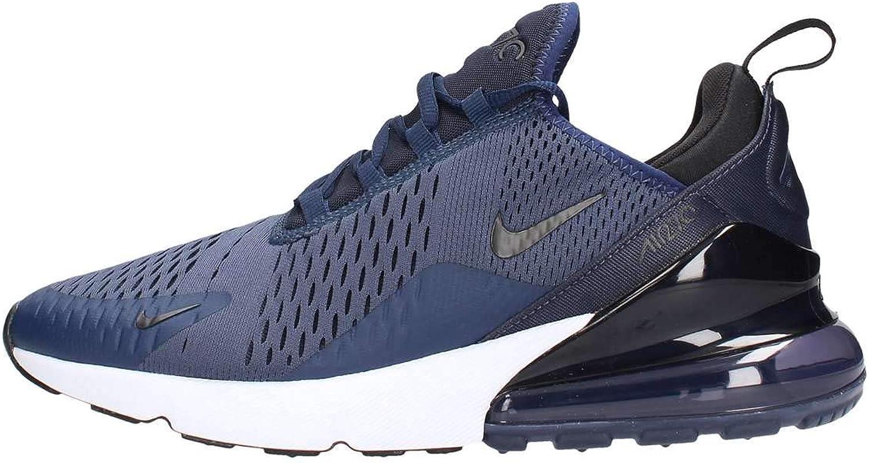 Nike Men s Air Max 270 Shoes 11, Navy Black
