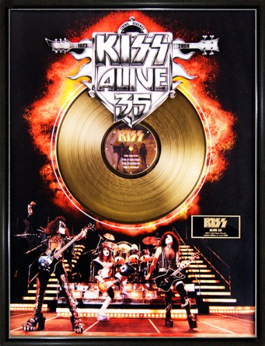 Kiss/Alive! 35 Ltd. Edition Gold - International Priority Shipping Tracking