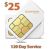 $25 Prepaid GSM Sim Card for GPS Tracker Devices Locators Pet Senior Kid 120-Day Wireless Service