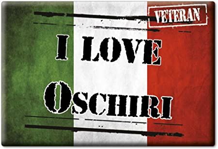 VAR. Black SS Enjoymagnets OSCHIRI CALAMITA Magnete Sardegna Italia Fridge Magnet Souvenir I Love