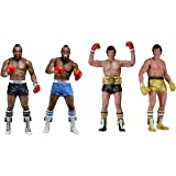"NECA 40th Anniversary 7"" Scale Series 1 Rocky III Action Figure Assortment"