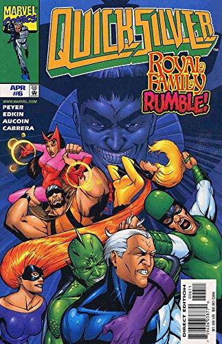 Quicksilver #6 VF/NM ; Marvel comic ()