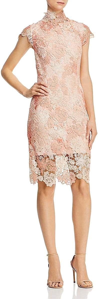 Laundry by Shelli Segal Womens Lace Floral Party Dress