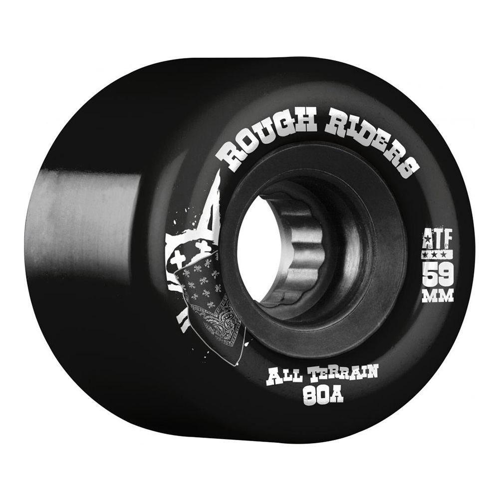Huesos Rough Riders ATF ruedas de Skate negro 59 MM: Amazon.es: Deportes y aire libre