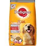 Pedigree Adult Dry Dog Food, (High Protein Variant) Chicken, Egg & Rice, 3kg Pack